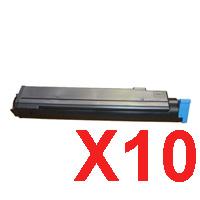 10 x Compatible OKI B410 B430 B440 MB470 MB480 Toner Cartridge