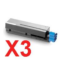 3 x Compatible OKI B411 B431 MB471 MB491 Toner Cartridge
