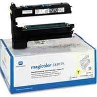 1 x Genuine Konica Minolta Magicolour 5400 5430 5440 5450 Yellow Toner Cartridge 1710583002