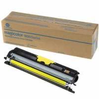 1 x Genuine Konica Minolta Magicolour 1600 1650 1690 Yellow Toner Cartridge A0V306K