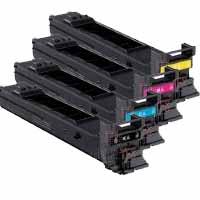 4 Pack Compatible Konica Minolta Magicolour 4600 4650 Toner Cartridge Set