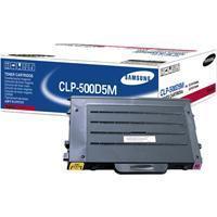 1 x Genuine Samsung CLP-500 CLP-550 Magenta Toner Cartridge CLP-500D5M