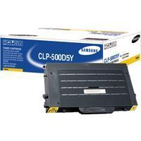 1 x Genuine Samsung CLP-500 CLP-550 Yellow Toner Cartridge CLP-500D5Y