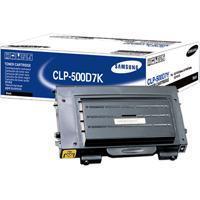 1 x Genuine Samsung CLP-500 CLP-550 Black Toner Cartridge CLP-500D7K