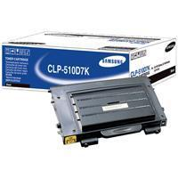 1 x Genuine Samsung CLP-510 CLP-510N Black Toner Cartridge CLP-510D7K