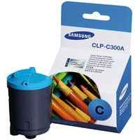 1 x Genuine Samsung CLP-300 CLX-2160 CLX-3160 Cyan Toner Cartridge CLP-C300A