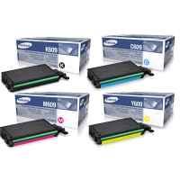 4 Pack Genuine Samsung CLP-770ND CLP-775ND Toner Cartridge Set