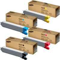 4 Pack Genuine Samsung CLX-8640ND CLX-8650ND Toner Cartridge Set