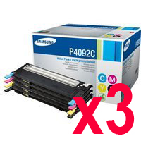 3 Lots of 4 Pack Genuine Samsung CLP-310 CLP-315 CLX-3170 CLX-3175 Toner Cartridge Set