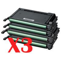 3 Lots of 4 Pack Compatible Samsung CLP-610 CLP-660 CLX-6210 CLX-6240 Toner Cartridge Set