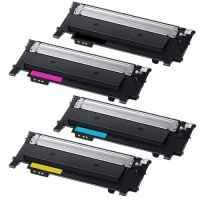 4 Pack Compatible Samsung SL-C430 SL-C480 Toner Cartridge Set SU371A SU113A ST979A SU247A SU457A