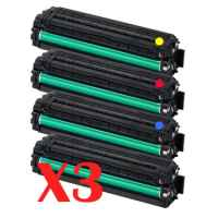 3 Lots of 4 Pack Compatible Samsung CLP-415 CLX-4170 CLX-4195 Toner Cartridge Set