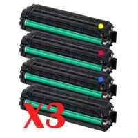 3 Lots of 4 Pack Compatible Samsung CLP-415 CLX-4170 CLX-4195 Toner Cartridge Set