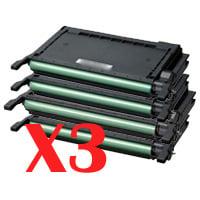 3 Lots of 4 Pack Compatible Samsung CLP-620 CLP-670 CLX-6220 CLX-6250 Toner Cartridge Set