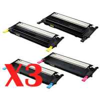 3 Lots of 4 Pack Compatible Samsung CLP-310 CLP-315 CLX-3170 CLX-3175 Toner Cartridge Set