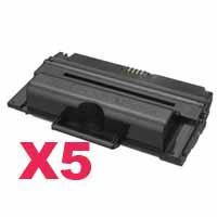 5 x Compatible Samsung SCX-5635 SCX-5835 Toner Cartridge MLT-D208L