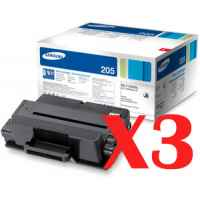 3 x Genuine Samsung ML-3310 ML-3710 SCX-4833 SCX-5637 SCX-5737 Toner Cartridge High Yield MLT-D205L