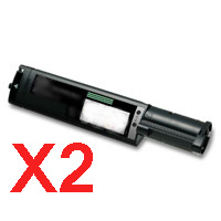2 x Compatible Fuji Xerox DocuPrint C525A Black Toner Cartridge CT200649
