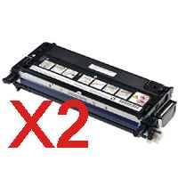 2 x Compatible Fuji Xerox DocuPrint C2200 C3300DX C3300 Black Toner Cartridge High Yield CT350674