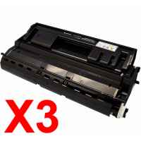 3 x Compatible Fuji Xerox DocuPrint 3105 Toner Cartridge CT350936