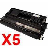 5 x Compatible Fuji Xerox DocuPrint 3105 Toner Cartridge CT350936