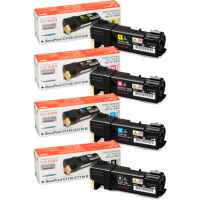 4 Pack Genuine Fuji Xerox DocuPrint C1110 Toner Cartridge Set