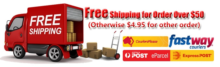Free Shipping for order over $50